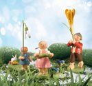 Set 2 Frühlingsgruß - 4 Figuren von Wendt & Kühn