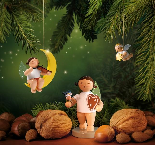 Set 2 Weihnachten  - 3 Figuren von Wendt & Kühn