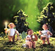 Set 5 Engelmusikanten  - 3 Figuren von Wendt & Kühn