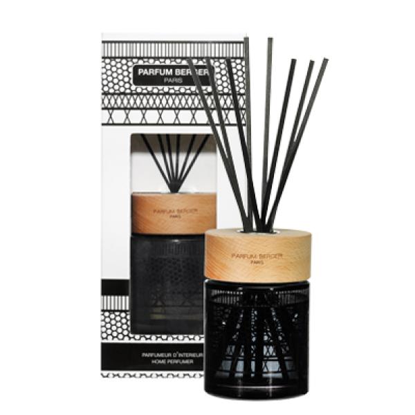 Raumduft Diffuser Set Iconic schwarz Amber / Poussière d'Ambre von Maison Berger