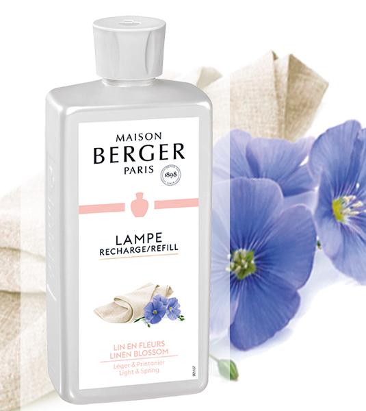 Frühlingshafte Leinenblüte / Lin en Fleurs NEU 2018 500 ml von Lampe Berger