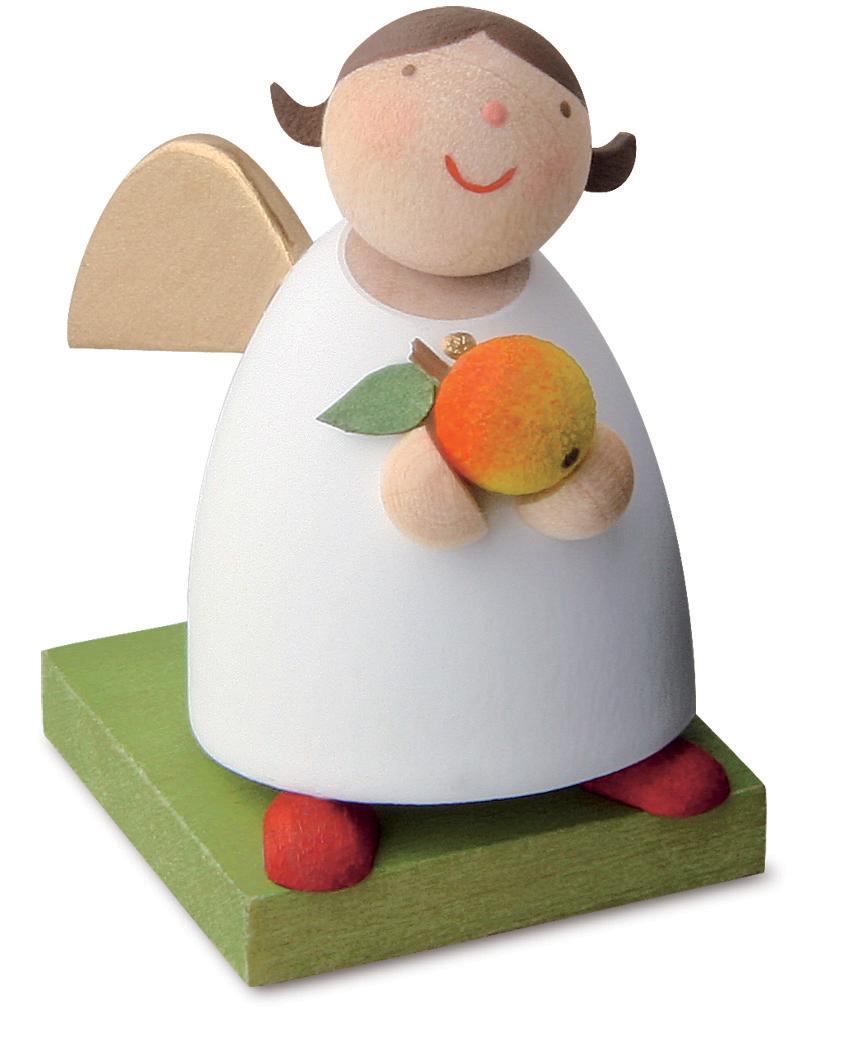 Schutzengel mit Apfel von Günter Reichel