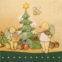 Serviette Weihnachtszauber 526/22/Weihn von Wendt & Kühn