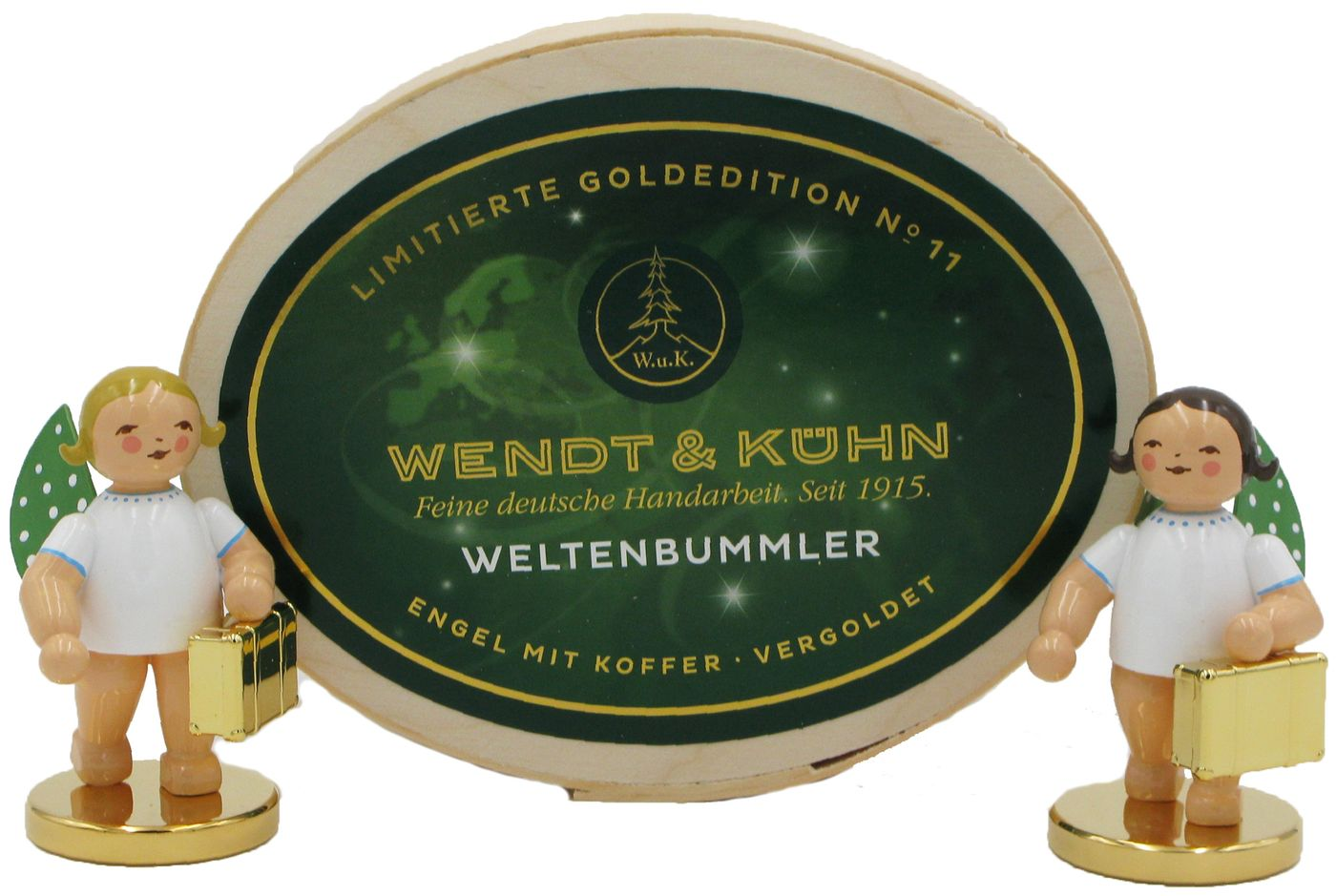 2er Set (1x blond 1x braun) Limitierte Goldedition No. 11 von Wendt & Kühn