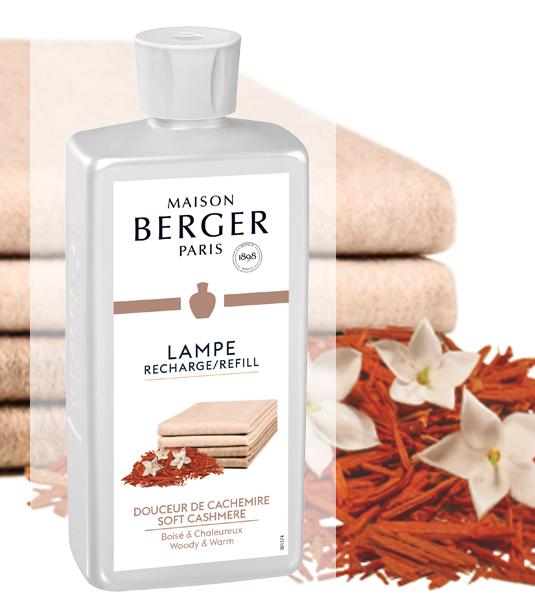 Holziges Kaschmir / Douceur de Cachemire 500 ml von Lampe Berger
