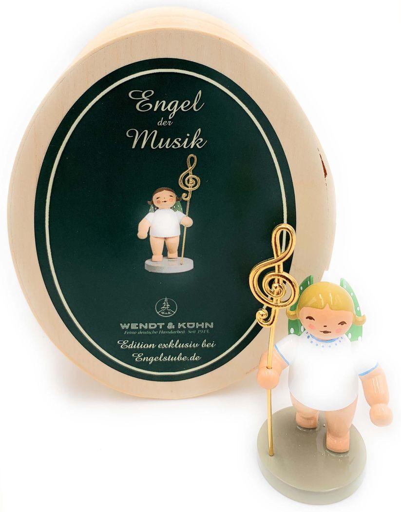 Engel der Musik in Spanschachtel inkl. Karte von Wendt & Kühn
