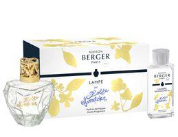 Geschenkset Transparent Premium-Kollektion Lolita Lempicka von Lampe Berger Paris