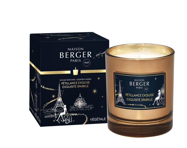 Duftkerze Champagner Fruchtsorbet / Pétillance Exquise von Parfum Berger