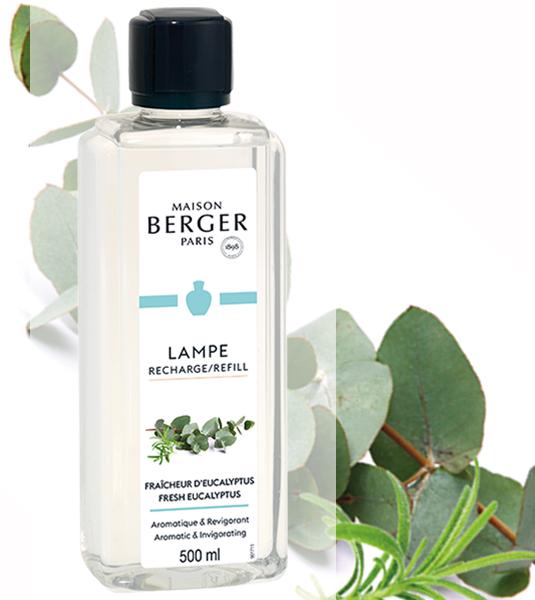 Tropischer Zitroneneukalyptus / Fraîcheur d'Eucalyptus 500 ml von Lampe Berger