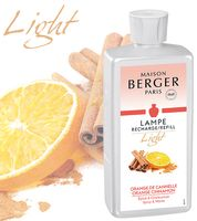 LIGHT Orange-Zimt / Orange de Canelle NEU 2019 500 ml von Lampe Berger