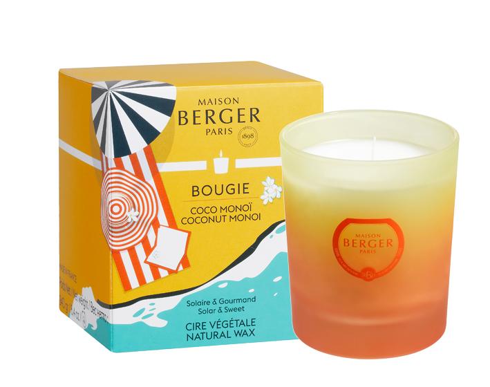 Duftkerze Summer Feeling / Coco Monoi von Maison Berger