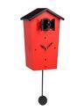 KooKoo BirdHouse rot - Die etwas andere Kuckucksuhr