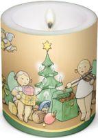 Kerze Weihnachtszauber WK/Weihn von Wendt & Kühn