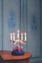 Tischleuchter, vierarmig, mit 4 Engeln 6205/12 NEU 2019 von Wendt & Kühn