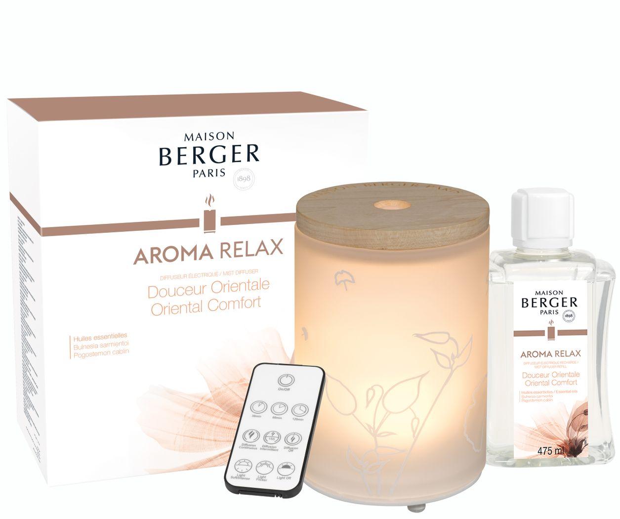 Aromadiffusor elektrisch RELAX NEU 2019 von Maison Berger