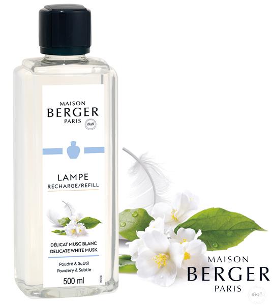 Weißer Moschus / Délicat Musc Blanc 1000 ml von Lampe Berger