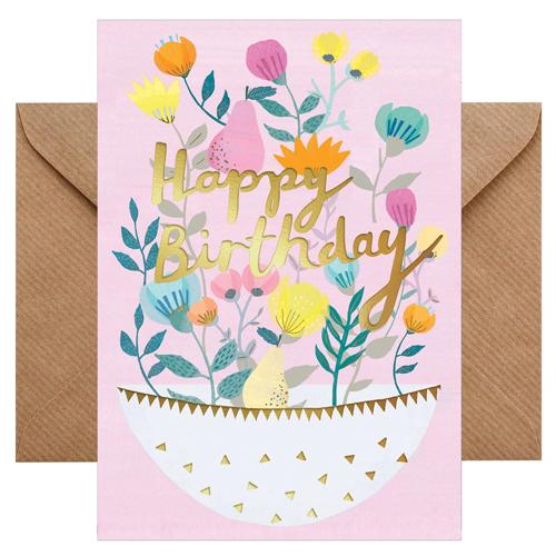Grußkarte Happy Birthday von chicmic