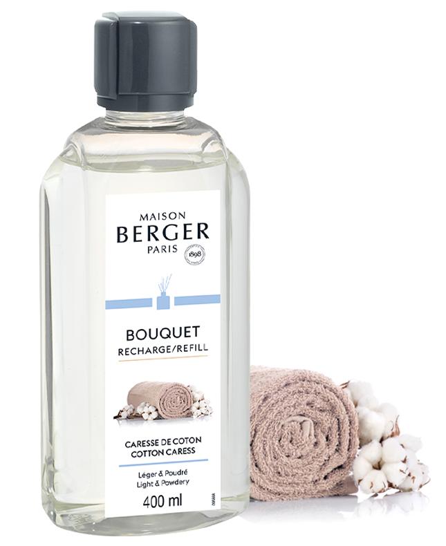 Refill Raumduft Diffuser Zarte Baumwollblüte / Caresse de Coton von Maison Berger