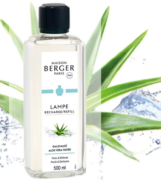 Frische der Aloe Vera / Eau d'Aloé 500 ml NEU 2021 von Lampe Berger
