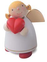 Schutzengel mit Herz, weiss (Gr. 3) von Günter Reichel