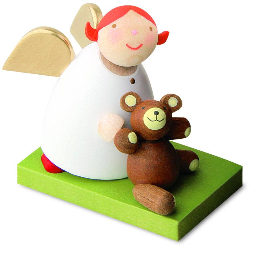 Schutzengel mit Teddy von Günter Reichel