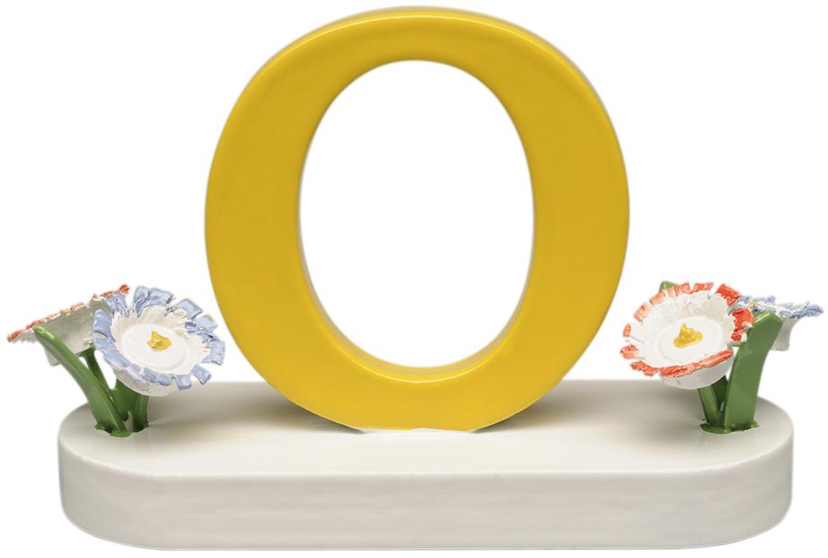 Buchstabe O, mit Blumen 634/23/O NEU 2021 von Wendt & Kühn
