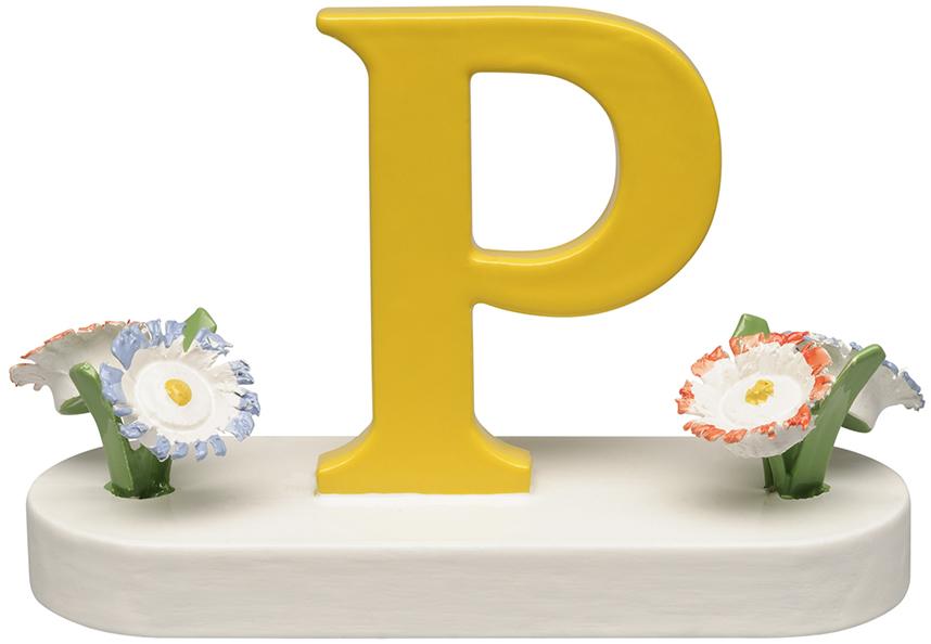 Buchstabe P, mit Blumen 634/23/P NEU 2021 von Wendt & Kühn