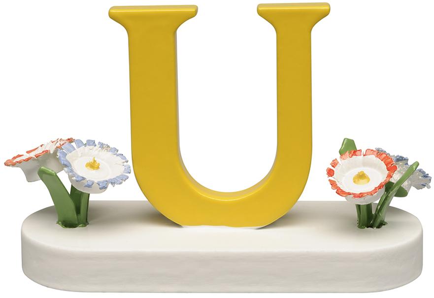 Buchstabe U, mit Blumen 634/23/U NEU 2021 von Wendt & Kühn