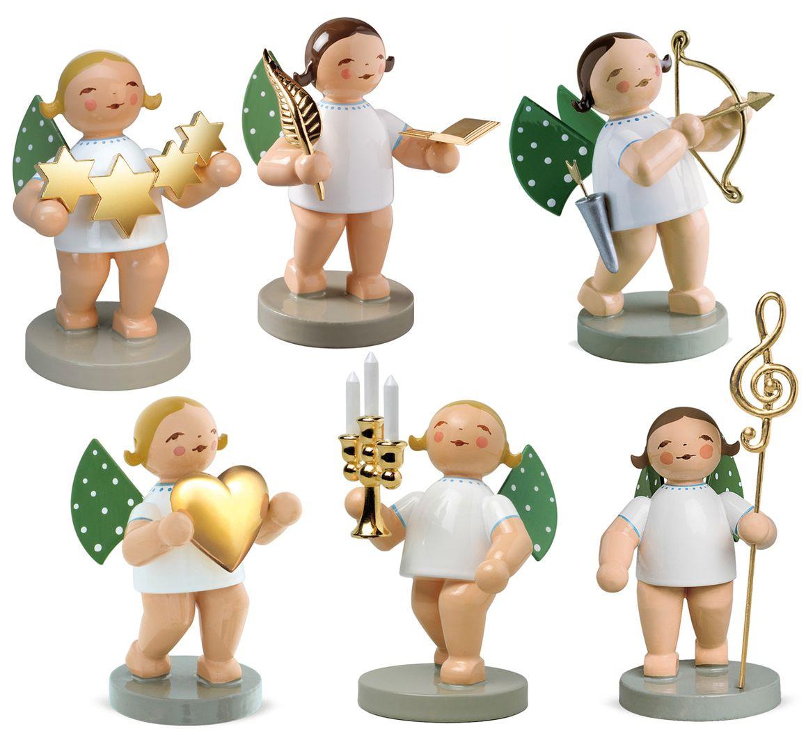 6 Figuren Goldedition 650/GE/Satz1 von Wendt & Kühn