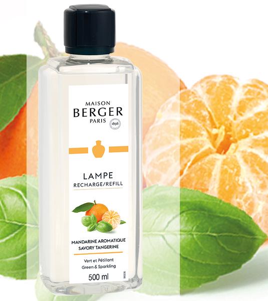 Spritzige Mandarine / Mandarine Aromatique 500 ml NEU 2021 von Lampe Berger