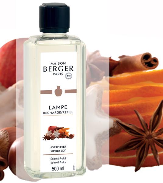 Winterliche Freuden / Joie  d'Hiver 500 ml NEU 2021 von Lampe Berger