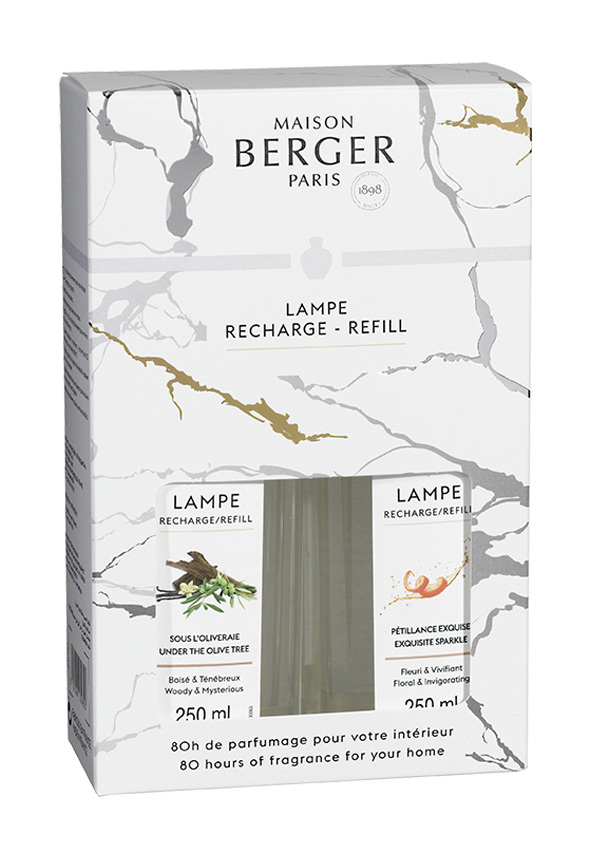 Duftset Alpha 2x 250 ml NEU 2021 von Lampe Berger