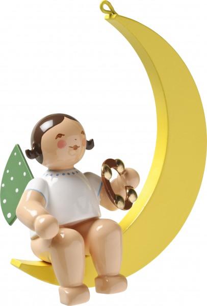 Engel mit Schellenring, im Mond 650/70/57 von Wendt & Kühn