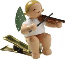 Engel mit Geige, auf Klemme 650/90/2 von Wendt & Kühn