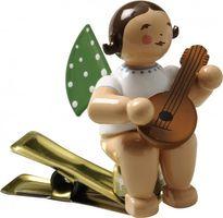 Engel mit Mandoline, auf Klemme 650/90/4 von Wendt & Kühn