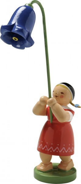 Mädchen mit Glockenblume 5248/3 von Wendt & Kühn