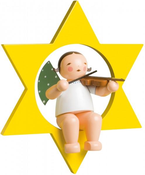 Engel mit Geige im Stern, groß 772/2 von Wendt & Kühn
