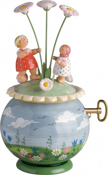 Spieldose Frühlingsreigen 5318/47A von Wendt & Kühn
