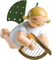 Engel mit kleiner Harfe, schwebend 650/130/14b von Wendt & Kühn