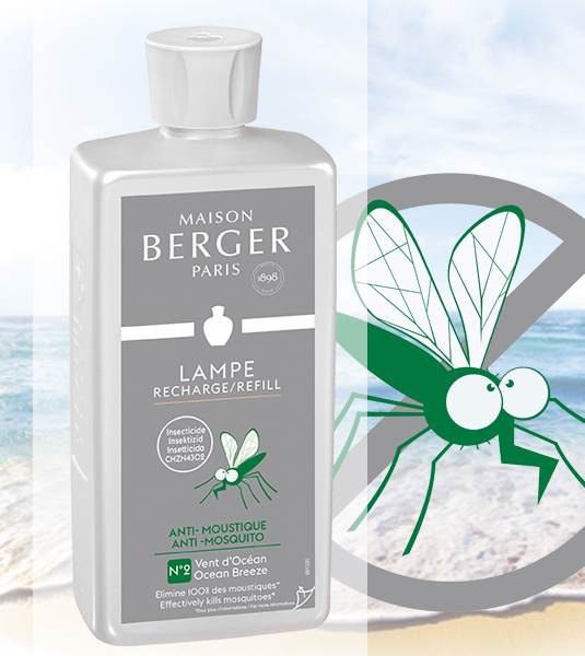 Anti Mücken / Anti Moustique Vent de Ocean 500 ml von Lampe Berger