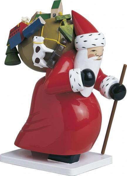 Großer Weihnachtsmann mit Spielzeug 6301/5h von Wendt & Kühn