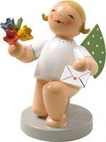 Engel mit Brief und Blumen, kniend 650/153 Wendt & Kühn