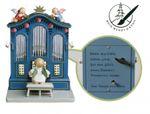Orgel mit Musikwerk mit 4-zeiliger Widmung von Wendt & Kühn