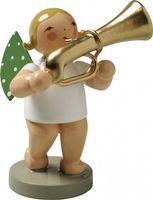 Engel mit Basstrompete 650/28 von Wendt & Kühn