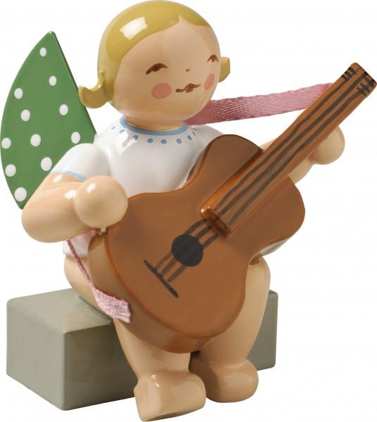 Engel mit Gitarre, sitzend 650/38a von Wendt & Kühn