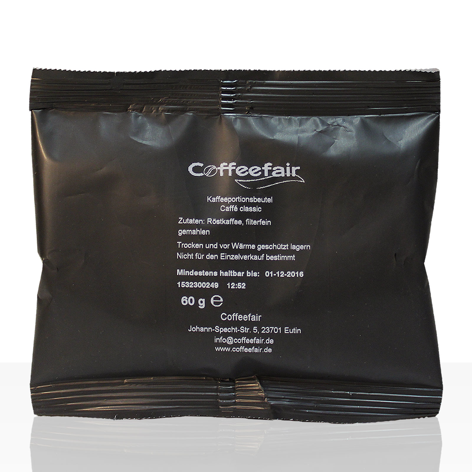 Coffeefair Filterkaffee gemahlen 60g