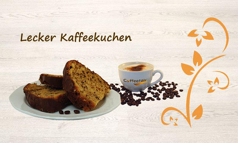 Kaffeekuchen mit Instantkaffee