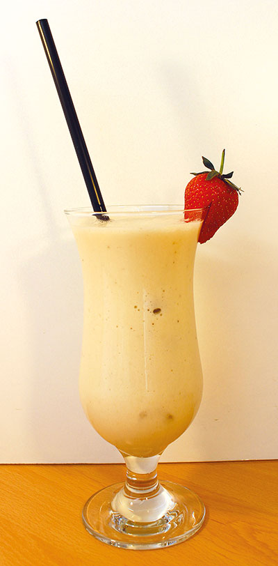 indonesian Vanilla Shake