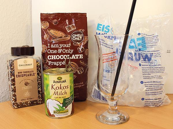 Zutaten Thai Iced Chocolate