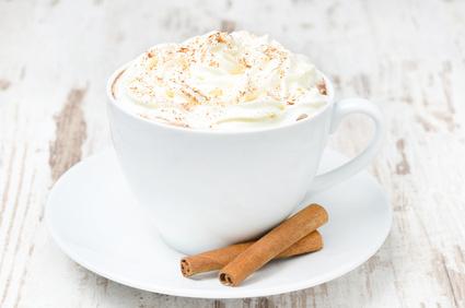Süßer Zimtkaffee
